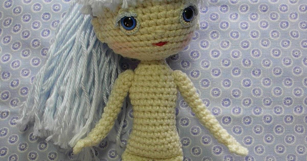 Amigurumi Human Pattern : 2000 Free Amigurumi Patterns: Human Doll