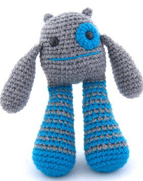 Amigurumi Monster Patterns : 2000 Free Amigurumi Patterns: Bubble Leg Monster