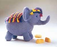 Amigurumi Human Nose : 2000 Free Amigurumi Patterns: Elephant (Spanish)