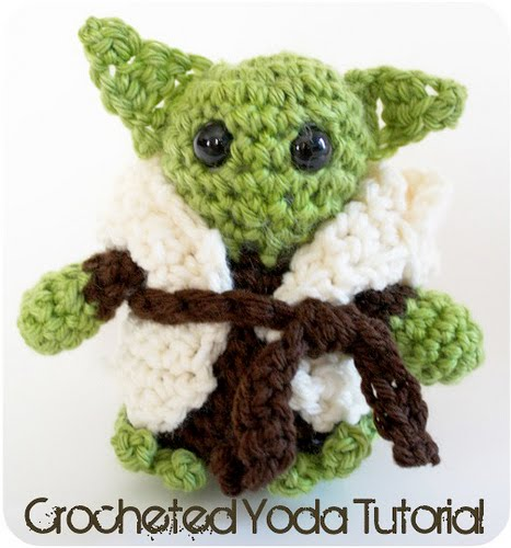 Crochet Yoda Pattern : Click here, you must, to discover pattern