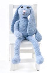 Big-Ears Bunny Crochet Pattern | Very Berry Handmade