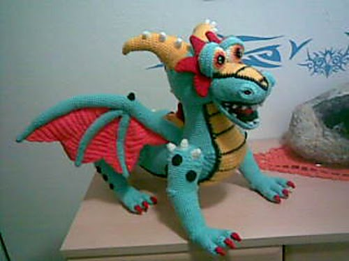 Large Amigurumi Pattern Free : 2000 Free Amigurumi Patterns: Krambambuli dragon amigurumi