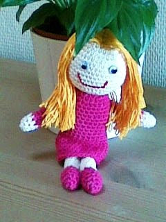 Crochet Girl, Doll Pattern, Amigurumi Girl Pattern, PDF