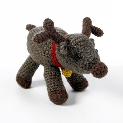 2000 Free Amigurumi Patterns: Amigurumi Reindeer