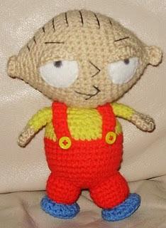 2000 Free Amigurumi Patterns: Stewie Griffin from Family ...