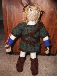 Amigurumi Link Pattern : 2000 Free Amigurumi Patterns: Link from the Legend of Zelda