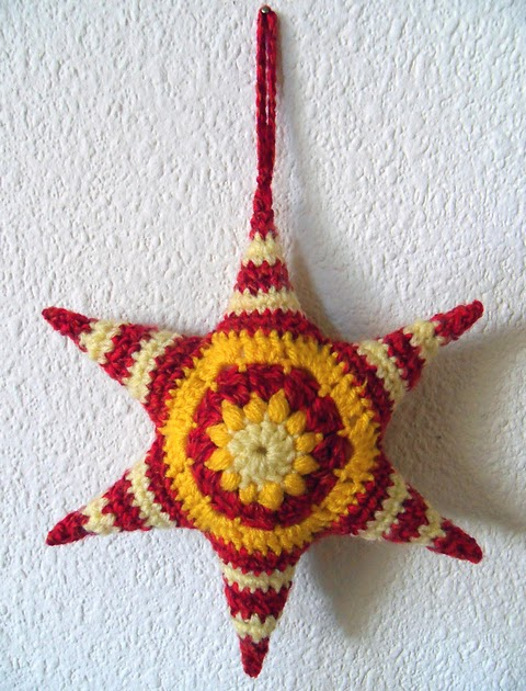 Free Amigurumi Star Pattern : 2000 Free Amigurumi Patterns: Hexagons are my Stars