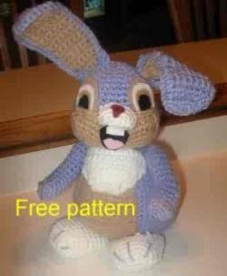 Amigurumi Rabbit Ears : 2000 Free Amigurumi Patterns: Happy Bunny