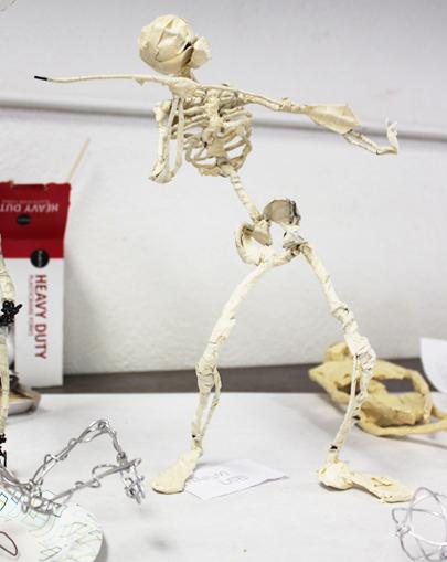 Beautiful Wire Skeleton Sketch - Electrical Diagram Ideas - itseo.info