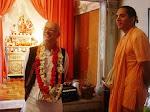 Srila Atulananda Acharya e Mangala Swami