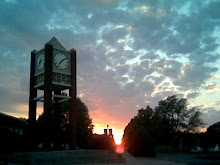 Sunset at Chadron State College