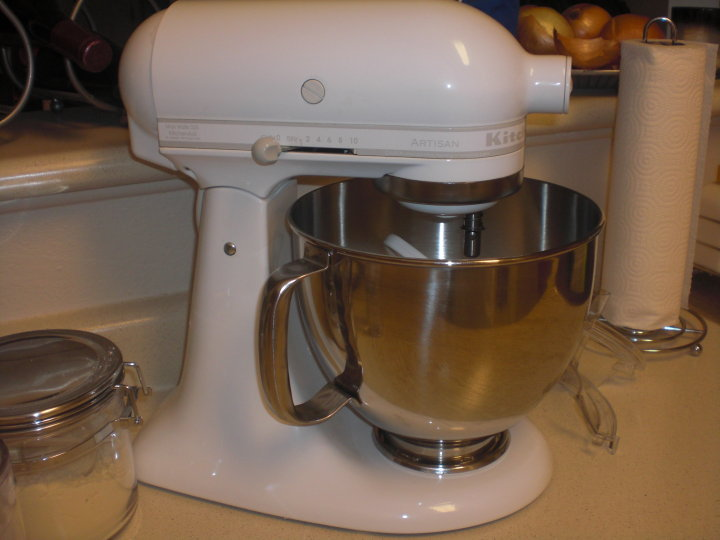Exceptionnel Oh My Goodness   Yes, That Is The Kitchenaid Artisan Mixer In White, With  All Of The Attachments! These Bad Boys Retail For $349 And Up Until  Yesterday Iu0027ve ...