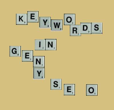 Gen-Y SEO - Keywords