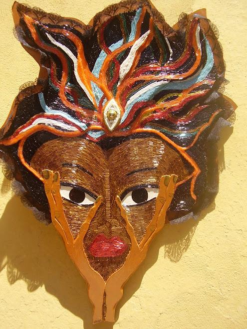 mascara de canutillos
