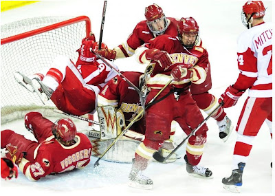 No.1 DU And No.3 UW Go Head-To-Head This Weekend In Madison