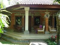 Villa in Puri Santrian, een boutique hotel in Sanur op Bali