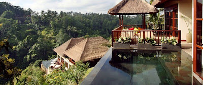 Ubud Hanging Gardens Hotel. Bali Boutique Resorts Accommodation