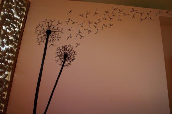 Mural de dormitorio