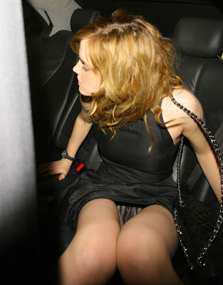 Emma watson upskirt see through panties