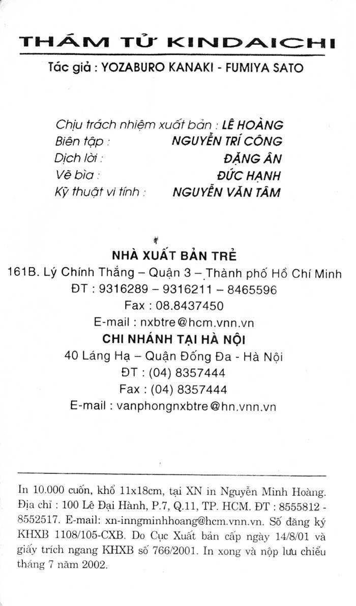 Thám Tử Kindaichi  Chap 45A - Truyenmoi.xyz