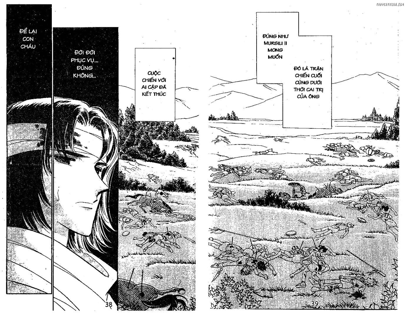 Sora wa Akai Kawa no Hotori - Dòng sông huyền bí Chapter 74 - Trang 34