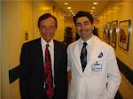 Dr. Urias Carrijo com Dr. Bernard Devauchelle