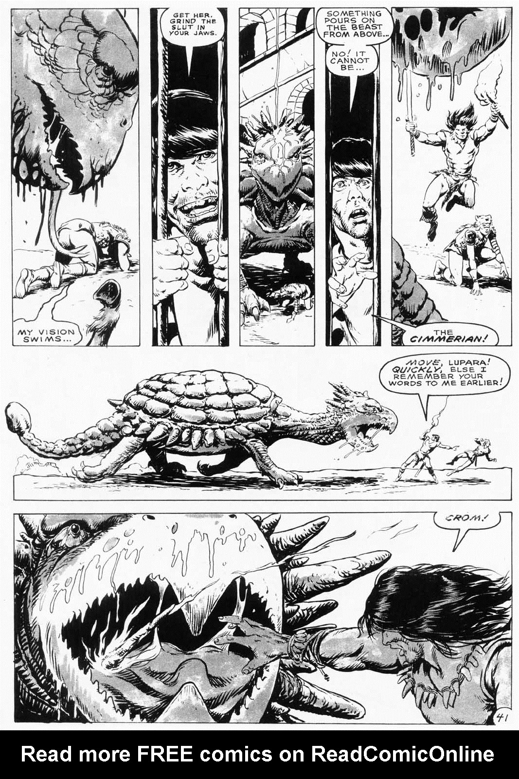 The Savage Sword Of Conan Issue #154 #155 - English 42