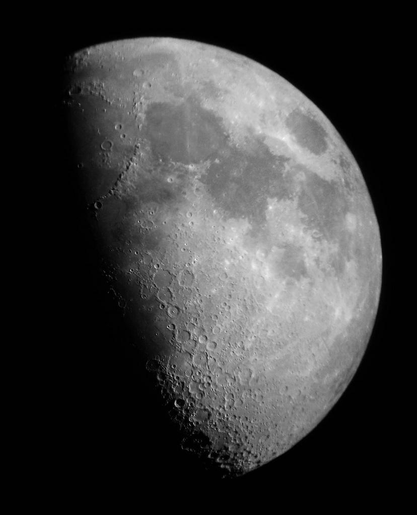 Luna Cuarto Creciente | Astrofotonoticiasgrancanaria Luna Primer Cuarto O Cuarto Creciente