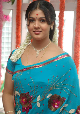 tollywood jyothi krishna in blue saree actress pics
