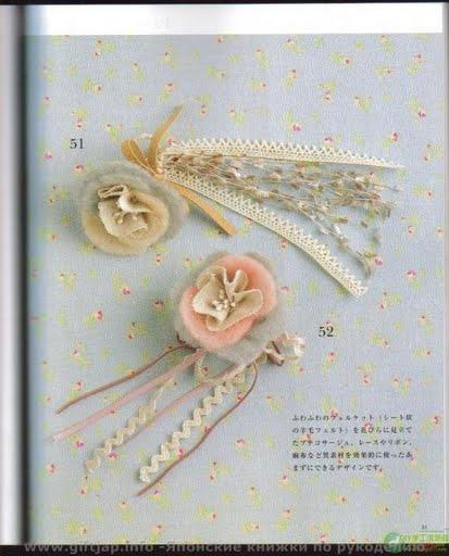FLORES DE CROCHET REVISTA JAPONESA | FullNenky