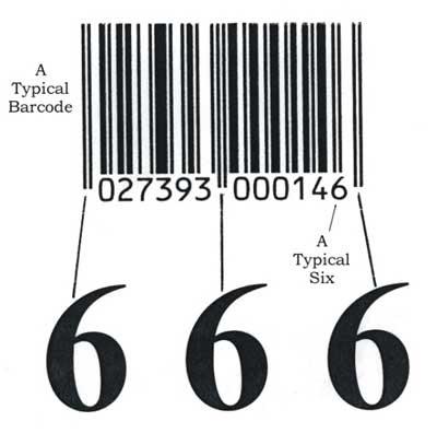 Bar Code & 666