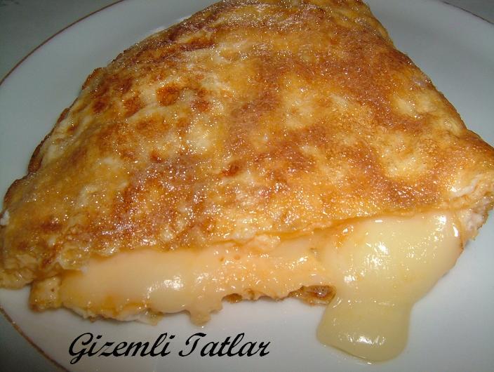 kaşar peynirli omlet