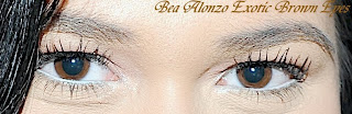 Bea Alonzo Exotic Brown Eyes