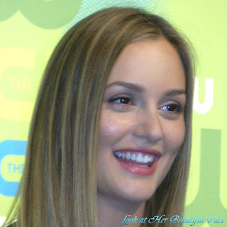 Look At Leighton Meester Beautiful Face