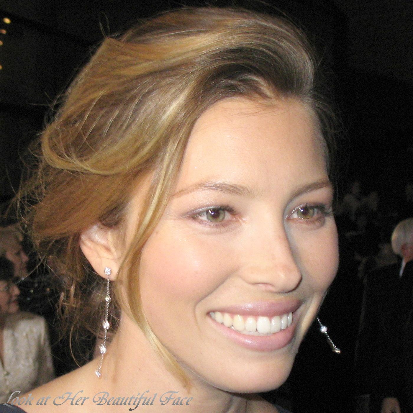Jessica Biel Beautiful Face