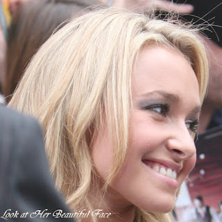 Hayden Panettiere Beautiful Face And Her Typical Blonde Hair