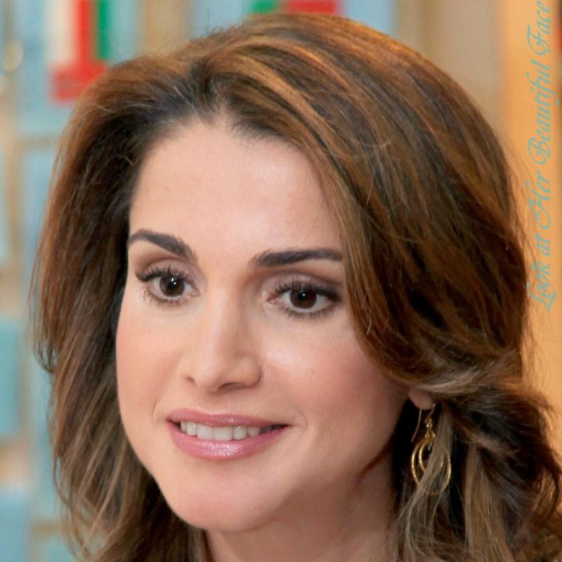 Look At Her Beautiful Face: Look At Rania Al Abdullah ...