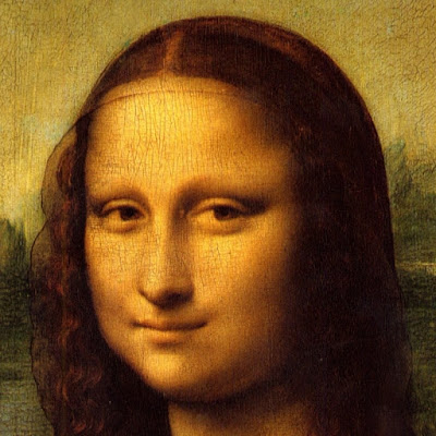 The Face of Mona Lisa