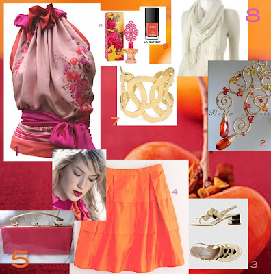 Halter Hotties: Halter Hotties: Halter Neck Outfit Inspired by a Fruit