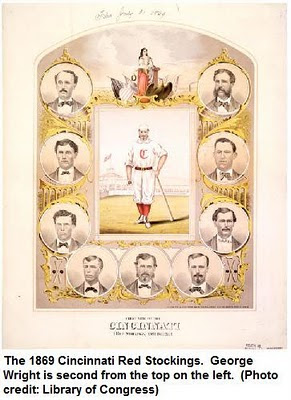 The Cincinnati Red Stockings of 1869