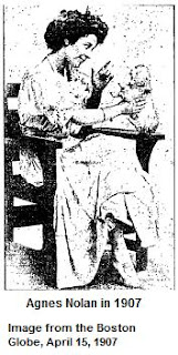Agnes Nolan in 1907
