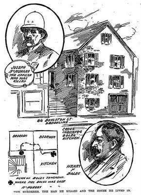 Boston Globe 1904: Murder of Joseph McMurray