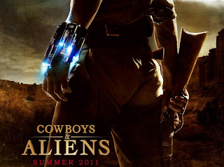 Cowboys and Aliens movie wallpaper and poster