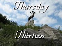 Thursday Thirteen - Caribou Monument at Beaumont-Hamel