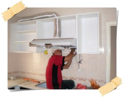 Addicted to aisyah akhirnya my kitchen cabinet is done for Cara bikin kitchen set