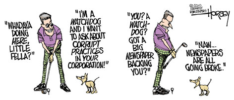 Image result for watchdog journalism