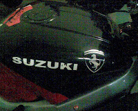 Fake Hayabusa Fuel Tank