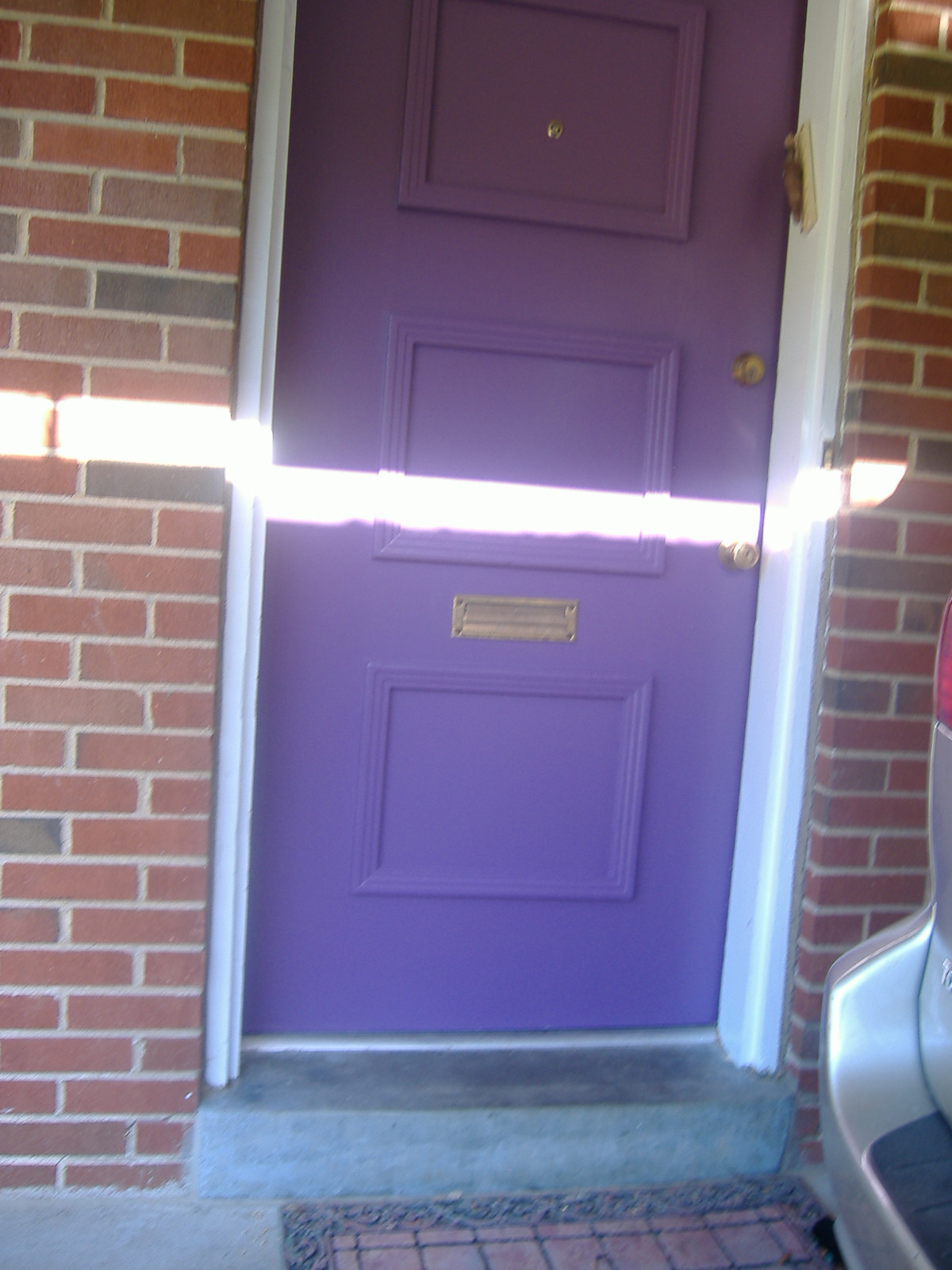 1600 #275BA4 The Rocking Purple Front Door!! wallpaper Purple Front Doors 47051200