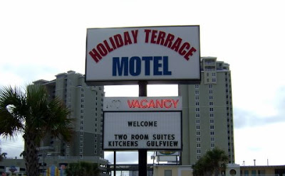 Panama City Beach Florida This Is Just A Picture Of The Front Street Side Sign Here From