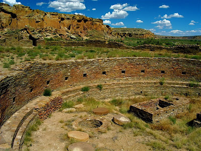Ancient Secrets at Chaco Canyon Being Studied by NASA Grand+Kiva,+Casa+Rinconada,+Chaco